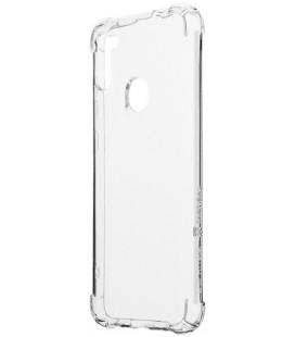 "Skaidrus dėklas Samsung Galaxy M11/A11 telefonui ""Tactical TPU Plyo Cover"""