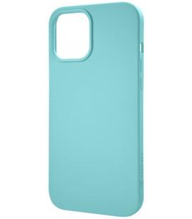 """Mėtos spalvos dėklas Apple iPhone 12 Mini telefonui """"Tactical Velvet Smoothie Cover"""""""