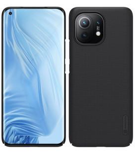 "Juodas dėklas Xiaomi Mi 11 telefonui ""Nillkin Frosted Shield"""