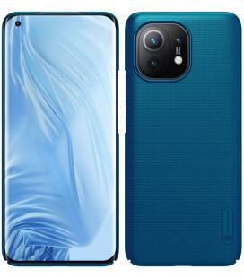 """Mėlynas dėklas Xiaomi Mi 11 telefonui """"Nillkin Frosted Shield"""""""