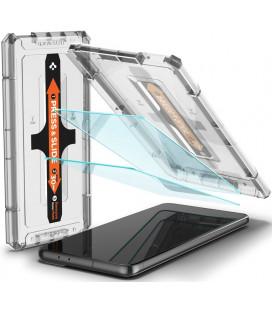 """Apsauginis grūdintas stiklas Samsung Galaxy S21 Plus telefonui """"Spigen Glas.TR EZ Fit"""""""