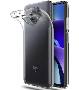 "Skaidrus dėklas Xiaomi Redmi Note 9T 5G telefonui ""Tech-Protect Flexair"""