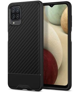 "Juodas dėklas Samsung Galaxy A12 telefonui ""Spigen Core Armor"""