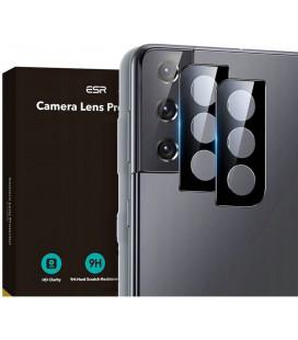 """Apsauginis grūdintas stiklas Samsung Galaxy S21 telefono kamerai apsaugoti """"ESR Camera Lens"""""""