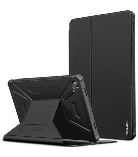 """Juodas atverčiamas dėklas Samsung Galaxy Tab A7 10.4 T500/T505 planšetei """"Infiland Multiple Angles"""""""