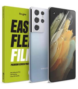 """Apsauginė ekrano plėvelė Samsung Galaxy S21 Ultra telefonui """"RIngke Easy Flex"""""""