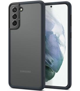 """Tamsiai pilkas dėklas Samsung Galaxy S21 Plus telefonui """"Spigen Cyril Color Brick"""""""