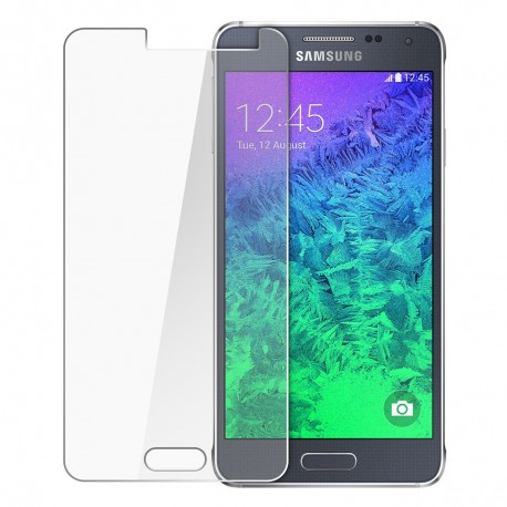 Apsauginis grūdintas stiklas Samsung Galaxy Alpha telefonui