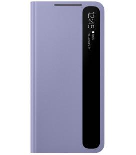 """Originalus violetinis atverčiamas dėklas """"Clear View Cover"""" Samsung Galaxy S21 Plus telefonui """"EF-ZG996CVE"""""""