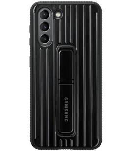 """Originalus juodas dėklas """"Standing Cover"""" Samsung Galaxy S21 telefonui """"EF-RG991CBE"""""""