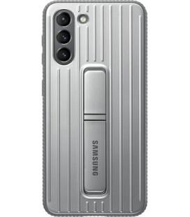 """Originalus pilkas dėklas """"Standing Cover"""" Samsung Galaxy S21 telefonui """"EF-RG991CJE"""""""