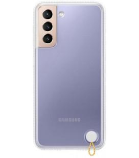 """Originalus baltas dėklas """"Protective Cover"""" Samsung Galaxy S21 telefonui """"EF-GG991CWE"""""""