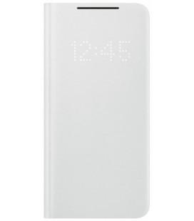 """Originalus pilkas atverčiamas dėklas """"LEDView Cover"""" Samsung Galaxy S21 Plus telefonui """"EF-NG996PJE"""""""
