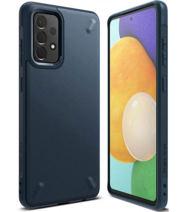"""Mėlynas dėklas Samsung Galaxy A52 4G/5G telefonui """"Ringke Onyx"""""""