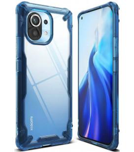 """Mėlynas dėklas Xiaomi Mi 11 telefonui """"Ringke Fusion X"""""""