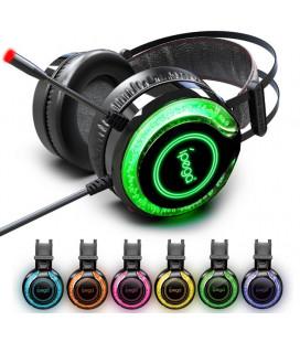"""Žaidimų ausinės su mikrofonu 3,5mm """"iPega PG-R015"""""""
