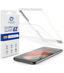 """Apsauginiai grūdinti stiklai Samsung Galaxy S21 Plus """"Whitestone Glass EZ"""""""