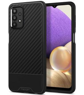 "Juodas dėklas Samsung Galaxy A32 5G telefonui ""Spigen Core Armor"""