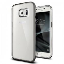 "Pilkas dėklas Samsung Galaxy S7 Edge G935F telefonui ""Spigen Neo Hybrid Crystal"""