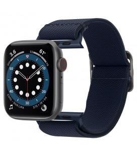 "Mėlyna apyrankė Apple Watch 2/3/4/5/6/SE (42/44mm) laikrodžiui ""Spigen Fit Lite"""