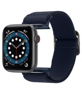 "Mėlyna apyrankė Apple Watch 4 / 5 / 6 / 7 / SE (42 / 44 / 45 mm) laikrodžiui ""Spigen Fit Lite"""