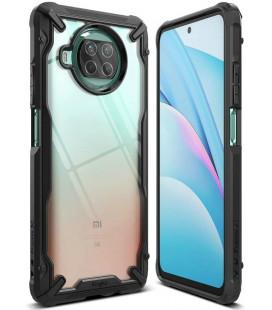 """Juodas dėklas Xiaomi Mi 10T Lite telefonui """"Ringke Fusion X"""""""
