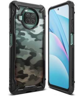 """Juodas (Camo) dėklas Xiaomi Mi 10T Lite telefonui """"Ringke Fusion X"""""""