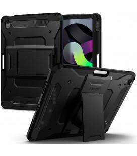 "Juodas dėklas Apple iPad Air 4 2020 planšetei ""Spigen Tough Armor Pro"""