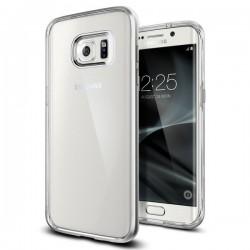 """Sidabrinės spalvos dėklas Samsung Galaxy S7 Edge telefonui """"Spigen Neo Hybrid Crystal"""""""