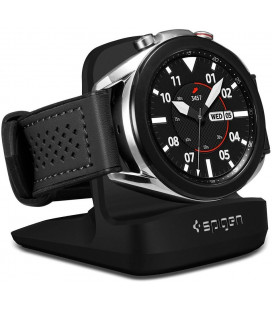 "Juodas stovas Samsung Galaxy Watch 3 laikrodžiams ""Spigen S352 Night Stand"""