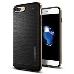 """Auksinės spalvos dėklas Apple iPhone 7 Plus telefonui """"Spigen Neo Hybrid"""""""