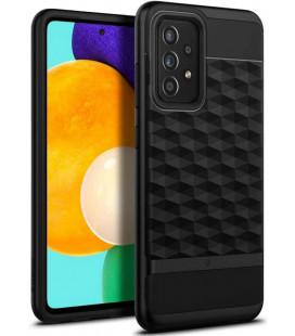 """Matinis juodas dėklas Samsung Galaxy A52 telefonui """"Caseology Parallax"""""""