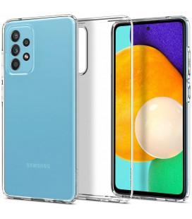 "Skaidrus dėklas Samsung Galaxy A52 telefonui ""Spigen Liquid Crystal"""