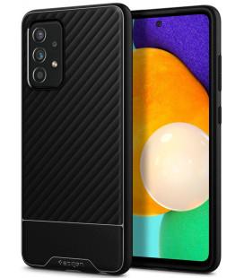 "Juodas dėklas Samsung Galaxy A72 telefonui ""Spigen Core Armor"""