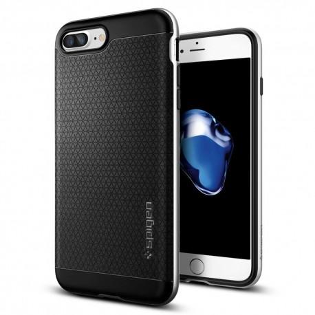 """Sidabrinės spalvos dėklas Apple iPhone 7 Plus telefonui """"Spigen Neo Hybrid"""""""