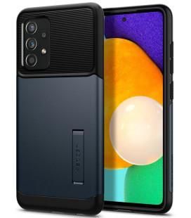 "Pilkas dėklas Samsung Galaxy A52 telefonui ""Spigen Slim Armor"""