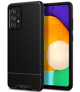 "Juodas dėklas Samsung Galaxy A52 telefonui ""Spigen Core Armor"""