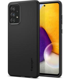 "Juodas dėklas Samsung Galaxy A72 telefonui ""Spigen Thin Fit"""