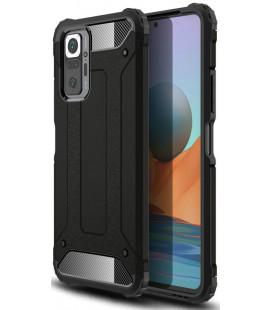 """Juodas dėklas Xiaomi Redmi Note 10 Pro telefonui """"Tech-Protect Xarmor"""""""