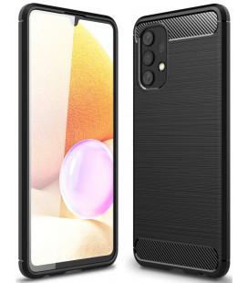 """Juodas dėklas Samsung Galaxy A32 LTE telefonui """"Tech-Protect TPUCarbon"""""""