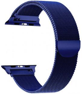 """Mėlyna apyrankė Apple Watch 1/2/3/4/5/6 (42/44mm) laikrodžiui """"Tech-Protect Milaneseband"""""""
