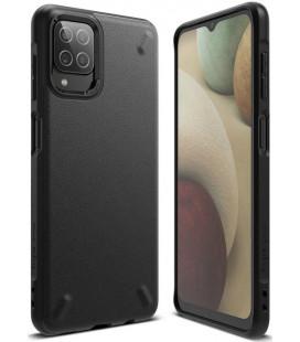 """Juodas dėklas Samsung Galaxy A12 telefonui """"Ringke Onyx"""""""