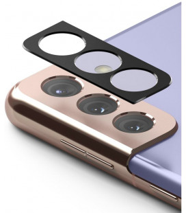 "Juoda kameros apsauga Samsung Galaxy S21 telefonui ""Ringke Camera Styling"""
