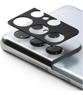 "Juoda kameros apsauga Samsung Galaxy S21 Ultra telefonui ""Ringke Camera Styling"""