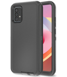 """Juodas dėklas Samsung Galaxy A52 telefonui """"Tech-protect Adventure"""""""