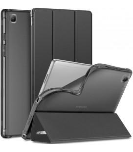 """Juodas atverčiamas dėklas Samsung Galaxy Tab A7 10.4 T500/T505 planšetei """"Infiland Smart Stand"""""""