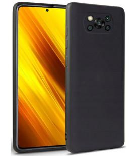 """Juodas dėklas Xiaomi Poco X3 Pro / X3 NFC telefonui """"Tech-protect Icon"""""""