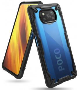 """Juodas dėklas Xiaomi Poco X3 Pro / X3 NFC telefonui """"Ringke Fusion X"""""""