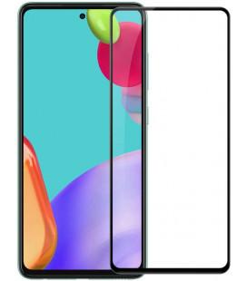 """Juodas apsauginis grūdintas stiklas Samsung Galaxy A52 LTE/5G telefonui """"Nillkin Amazing 2.5D CP+ Pro"""""""