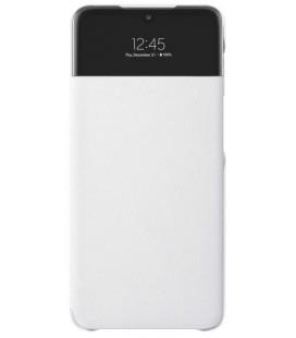 """Originalus baltas atverčiamas dėklas """"S-View Case"""" Samsung Galaxy A52 telefonui """"EF-EA525PWE"""""""